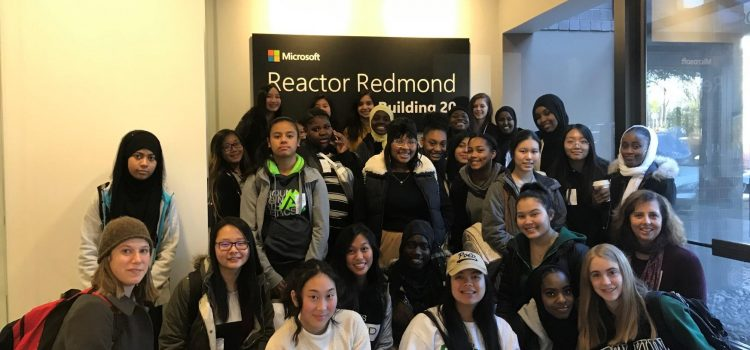 Microsoft Coding Workshop with Aki Kurose MS, Ford MS, Franklin HS, and Tyee HS