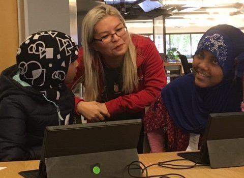 Microsoft Coding Workshop with Van Asselt & Loyal Heights Elementary Schools