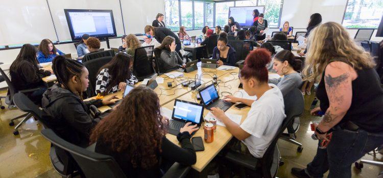 West Seattle, Thomas Jefferson, Franklin Pierce and Washington High Schools at Microsoft