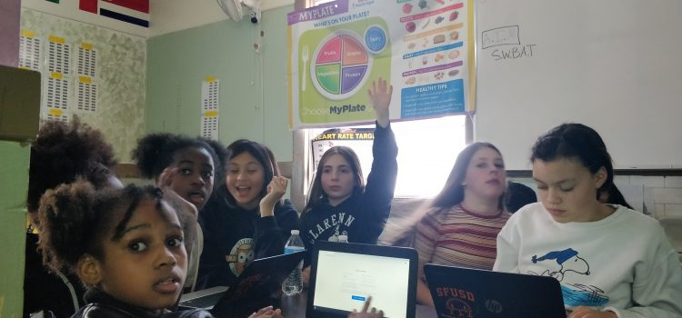 App Workshop at Everett Middle School