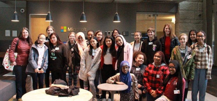 Broadview Thomson K-8 at Microsoft Inclusive Technologies Lab