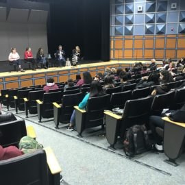 Panel at Spanaway Lake High School